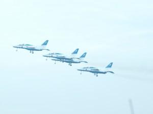 離陸直後のブルーインパレス